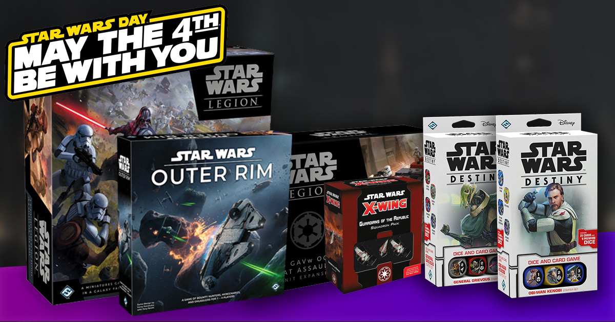 May the 4th Be With you at Winning Strategy Games