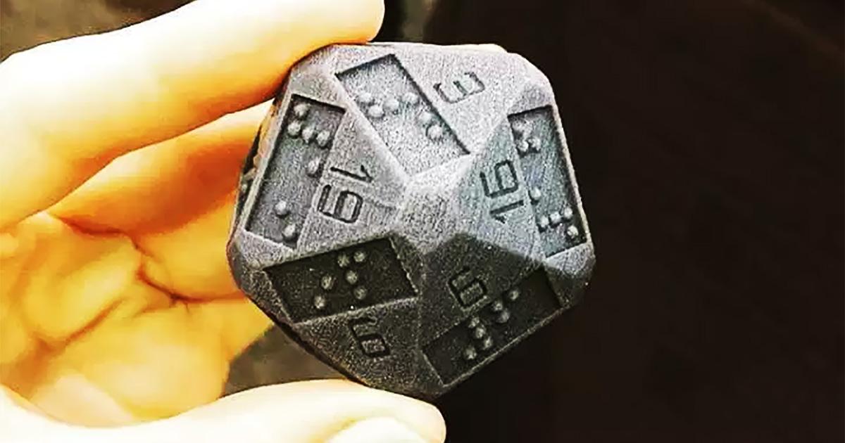 3D Printed D20