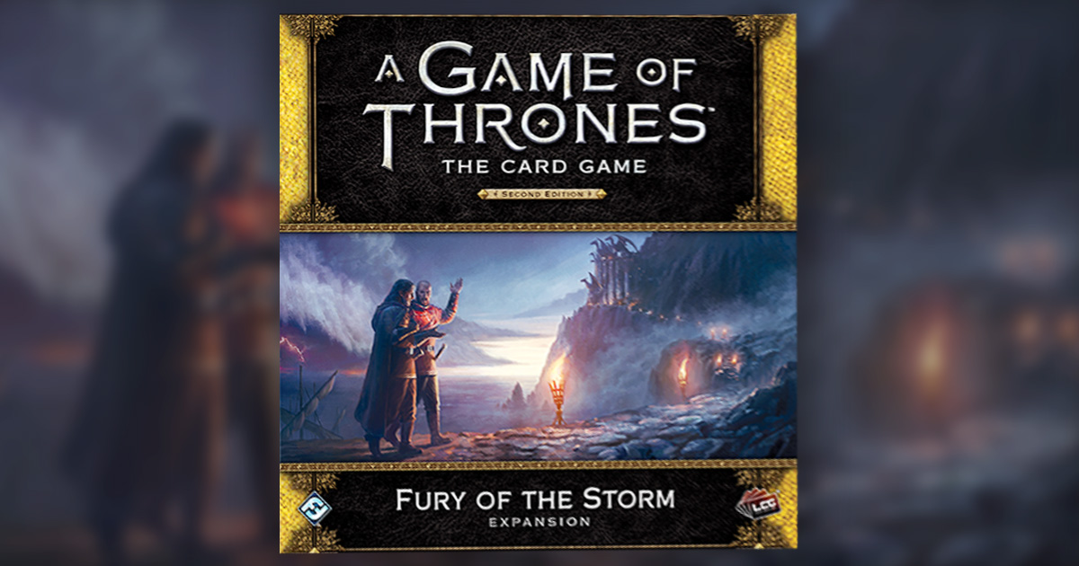 Game of Thrones Card Game – Fury of the Storm Cover Image