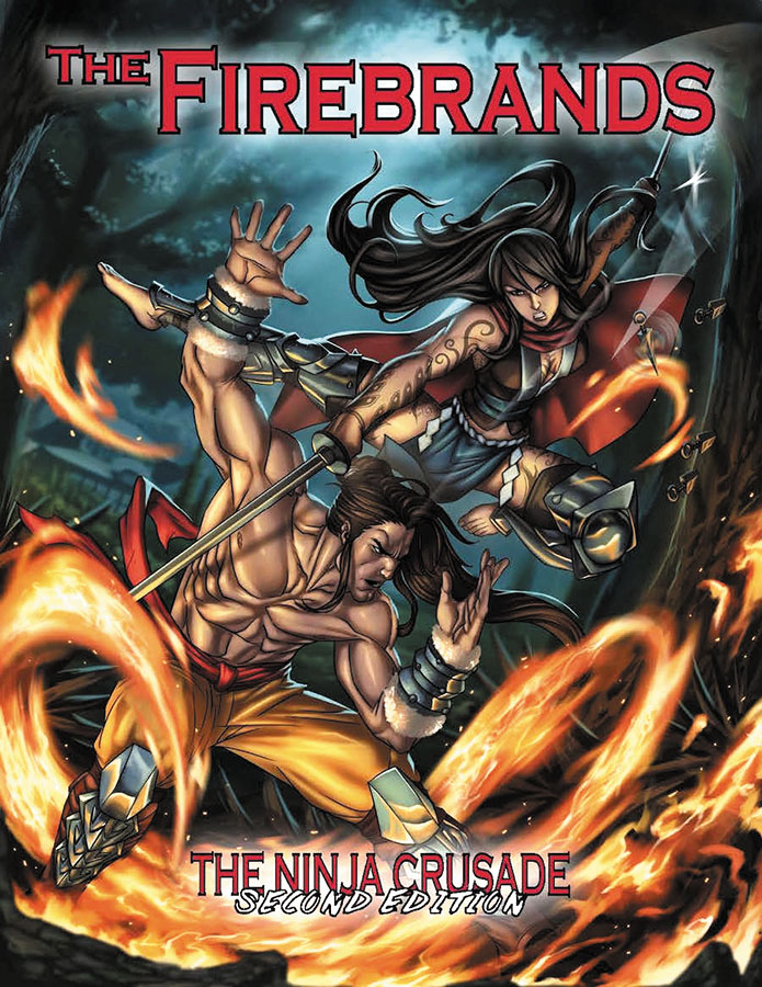 The Ninja Crusade 2nd Edition - The Firebrands Box Front