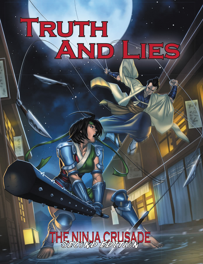 The Ninja Crusade 2nd Edition: Truth And Lies Box Front