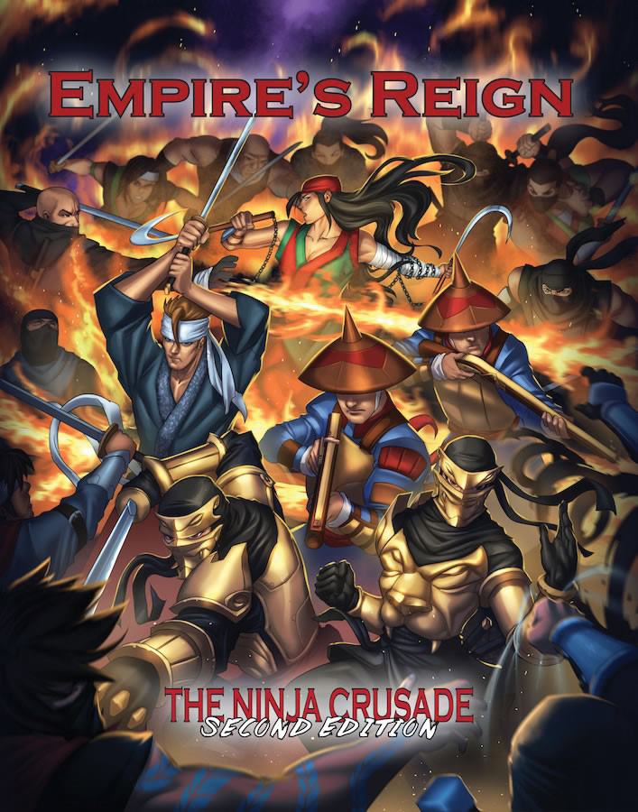 The Ninja Crusade: Empires Reign Box Front