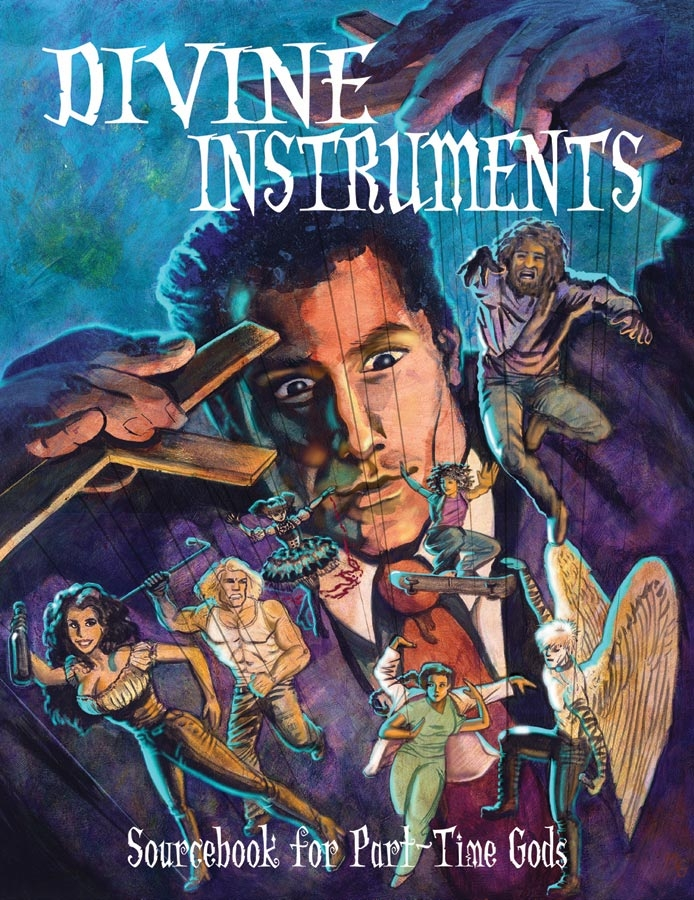 Part-time Gods Rpg: Divine Instruments Box Front