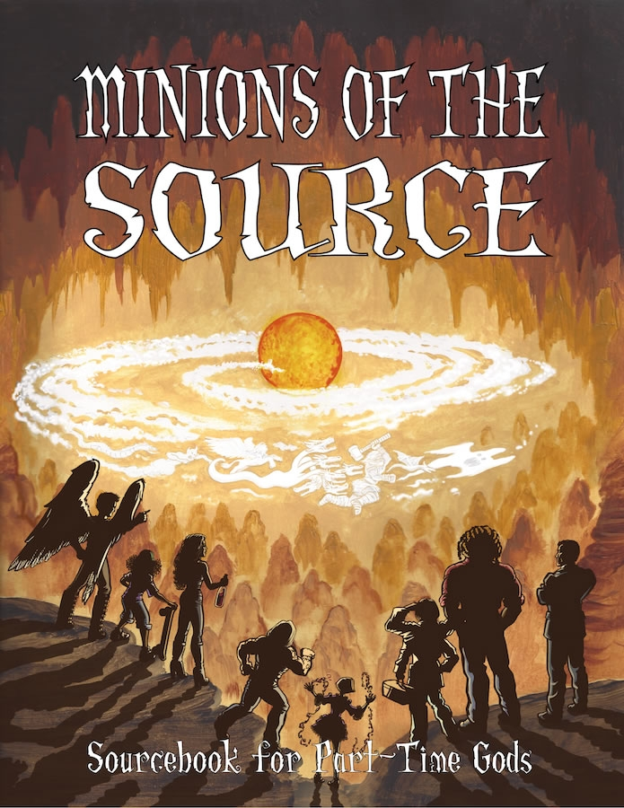Part-time Gods Rpg: Minions Of The Source Box Front