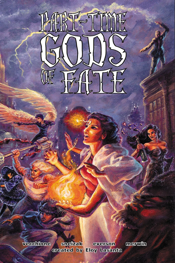 Part-time Gods Of Fate Rpg (hardcover) Box Front