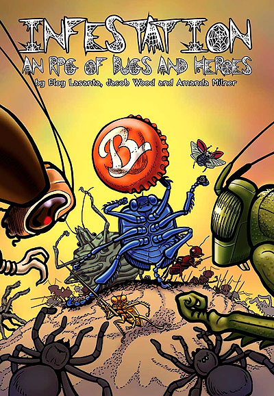 Infestation: An Rpg Of Bugs And Heroes (color) Box Front