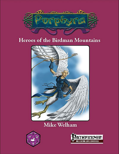 Pathfinder Rpg: Heroes Of The Birdman Mountains Box Front