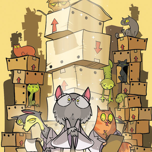 Schrodinger`s Cats Box Front