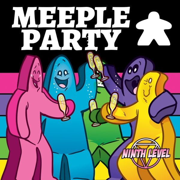 Meeple Party Game Box