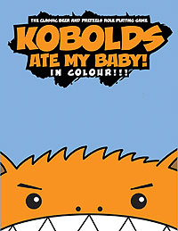 Kobolds Ate My Baby Rpg In Color Box Front