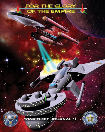 Star Fleet Battles: For The Glory Of The Empire Journal 1 Box Front