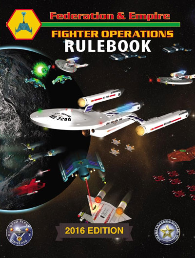 Federation And Empire: Fighter Operations 2016  Box Front