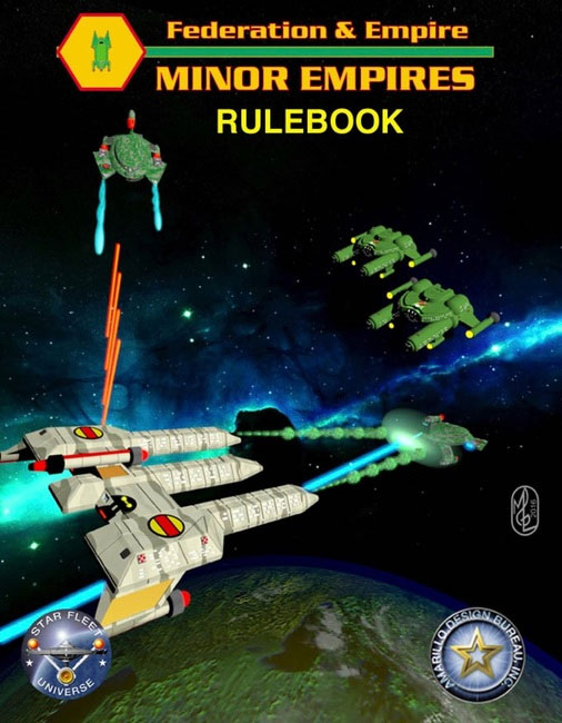 Federation And Empire: Minor Empires 2016 Box Front