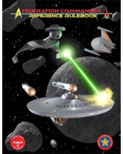 Federation Commander: Reference Rulebook Revised - 6th Edition Box Front