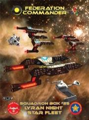 Federation Commander: Squadron Box 25 Box Front
