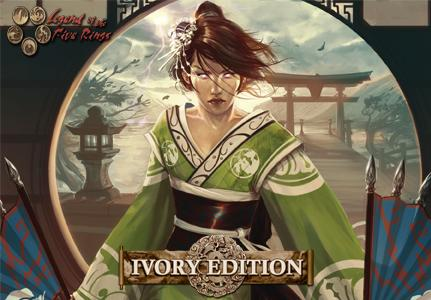 Legend Of The Five Rings Ccg: Ivory Edition Booster Display (36) Box Front