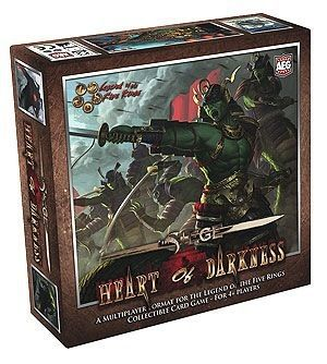 Legend Of The Five Rings Ccg: Siege: Heart Of Darkness Game Box