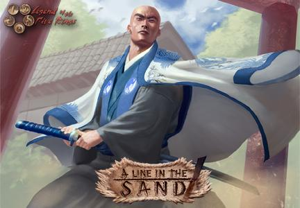 Legend Of The Five Rings Ccg: Ivory Edition: A Line In The Sand Booster Display (36) Box Front