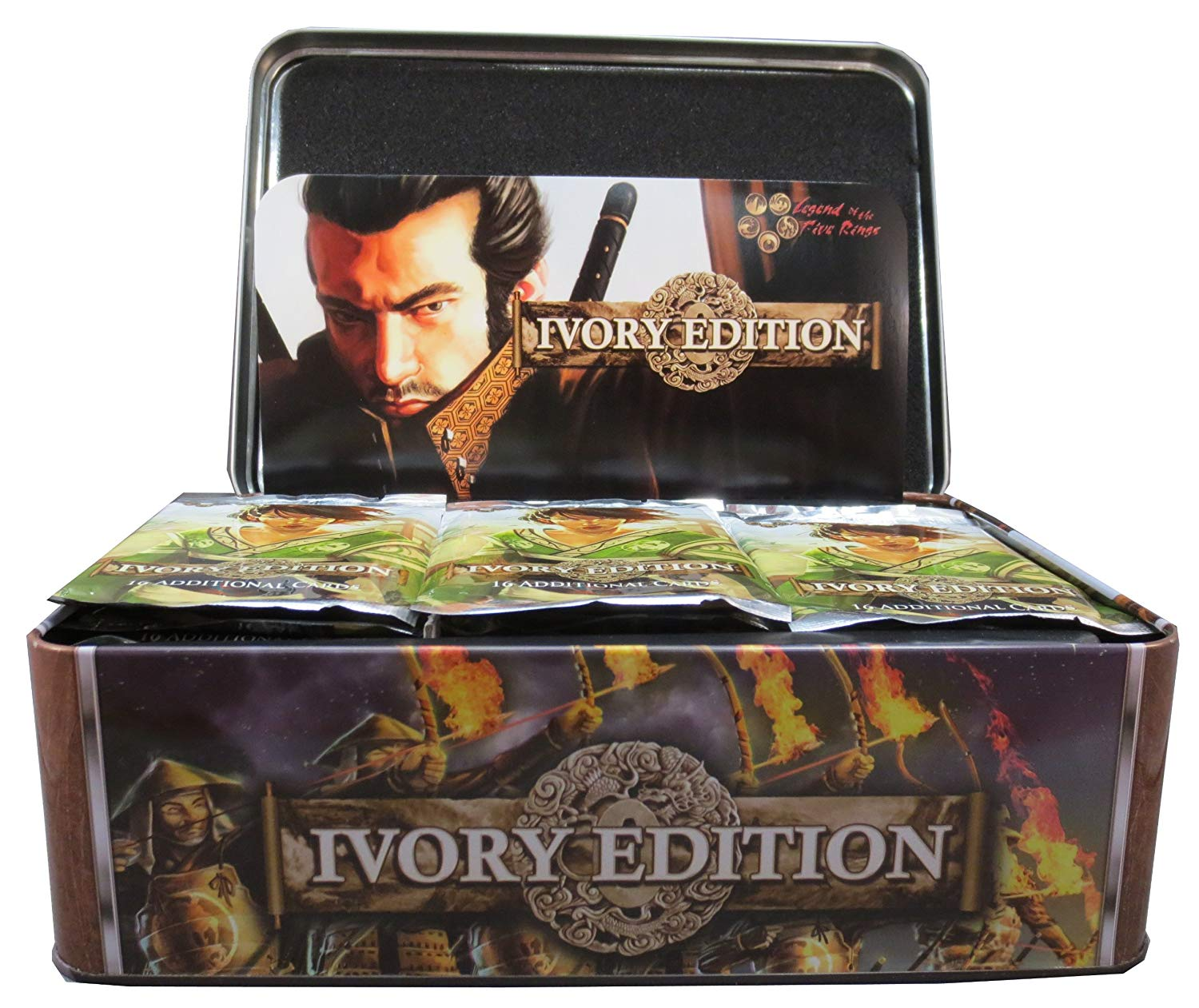 Legend Of The Five Rings Ccg: Ivory Edition: The New Order Booster Display (36) Game Box