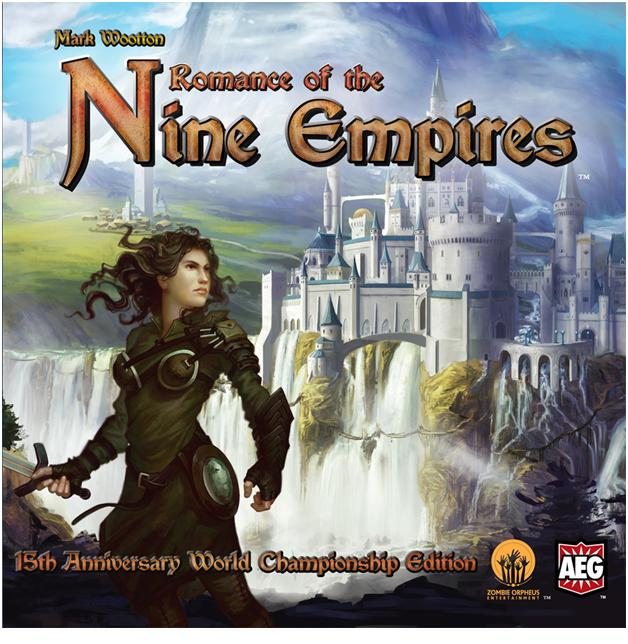 Romance Of The Nine Empires 15th Anniversary World Championship Edition Box Front