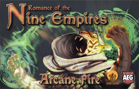 Romance Of The Nine Empires: Arcane Fire Box Front