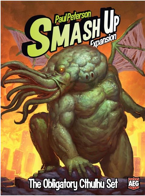 Smash Up: The Obligatory Cthulhu Expansion Box Front