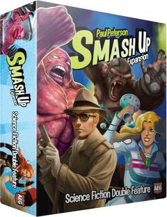 Smash Up: Science Fiction Double Feature Expansion Box Front
