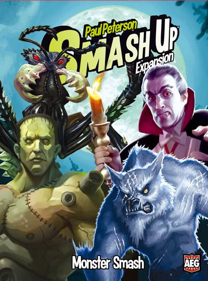 Smash Up: Monster Smash Expansion Box Front