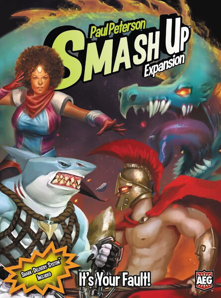 Smash Up: It`s Your Fault Expansion Box Front
