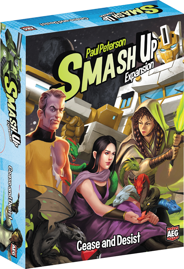 Smash Up : Cease And Desist Expansion Box Front