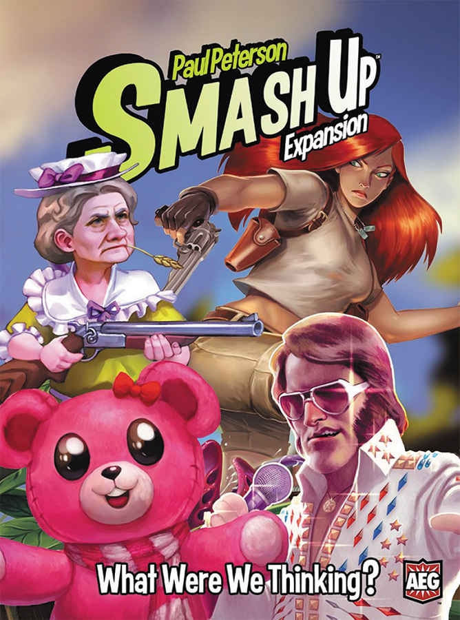 Smash Up: What Were We Thinking? Expansion Box Front