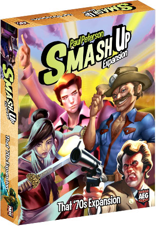 Smash Up: That `70s Expansion Box Front