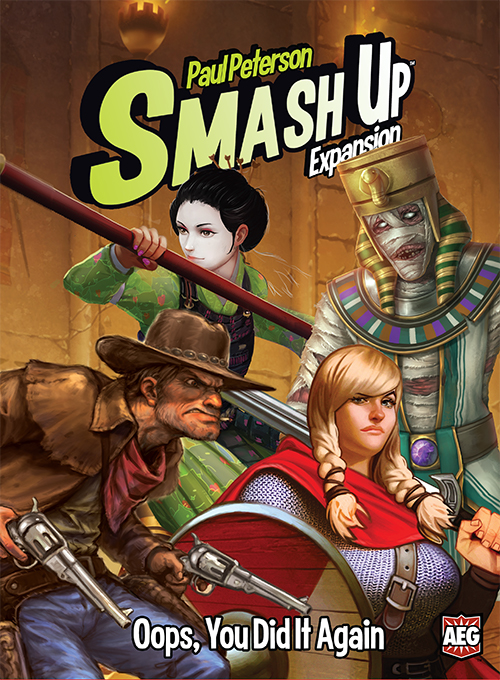Smash Up: Oops You Did It Again Box Front