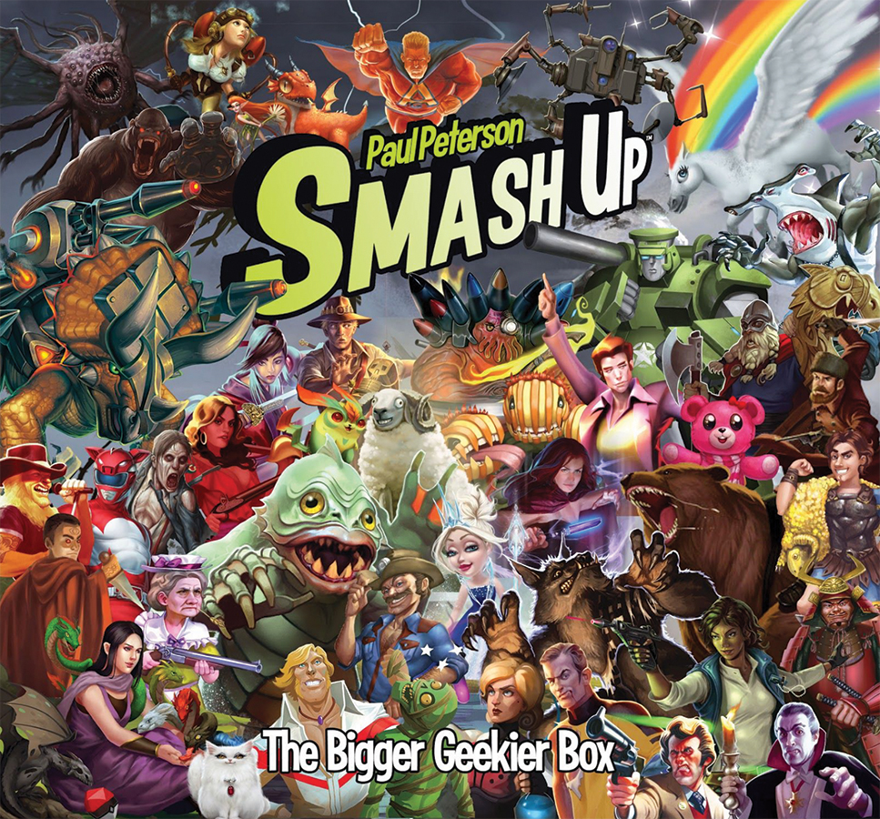 Smash Up: The Bigger Geekier Box Box Front
