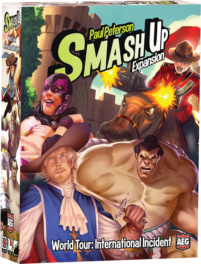 Smash Up: World Tour - International Incident Expansion Game Box
