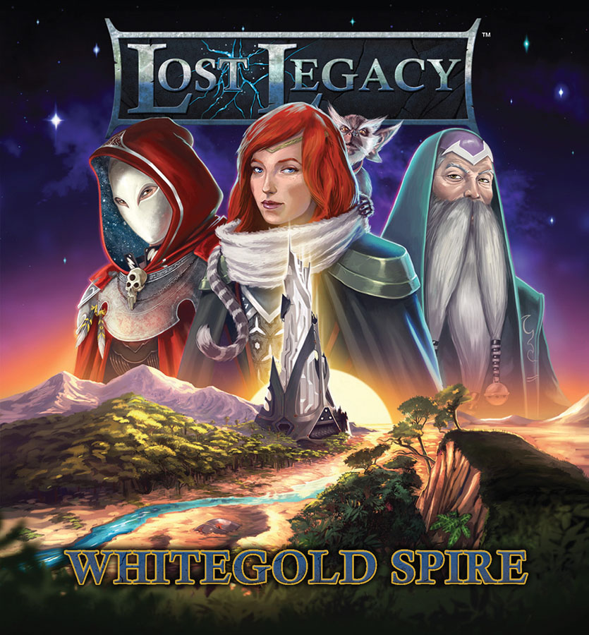 Lost Legacy: 2nd Chronicle: Vorpal Sword And Whitegold Spire Box Front