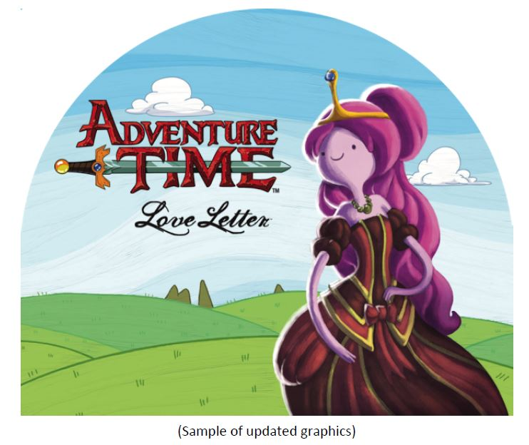 Love Letter: Adventure Time Counter Display Unit Box Front