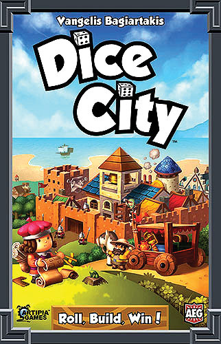 Dice City Box Front