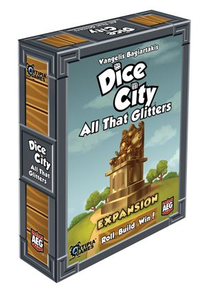 Dice City: All That Glitters Expansion Box Front