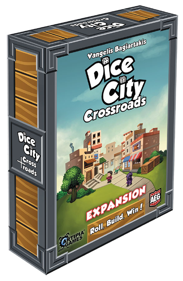 Dice City: Crossroads Expansion Box Front