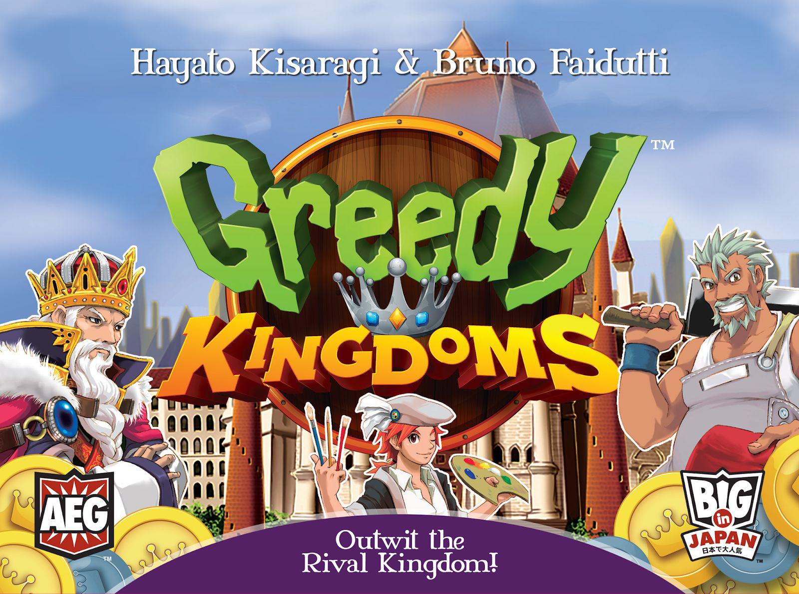Greedy Kingdoms Box Front