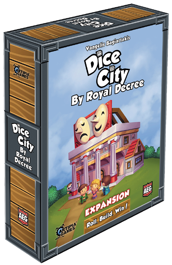 Dice City: By Royal Decree Expansion Box Front