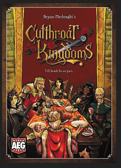 Cutthroat Kingdoms Box Front