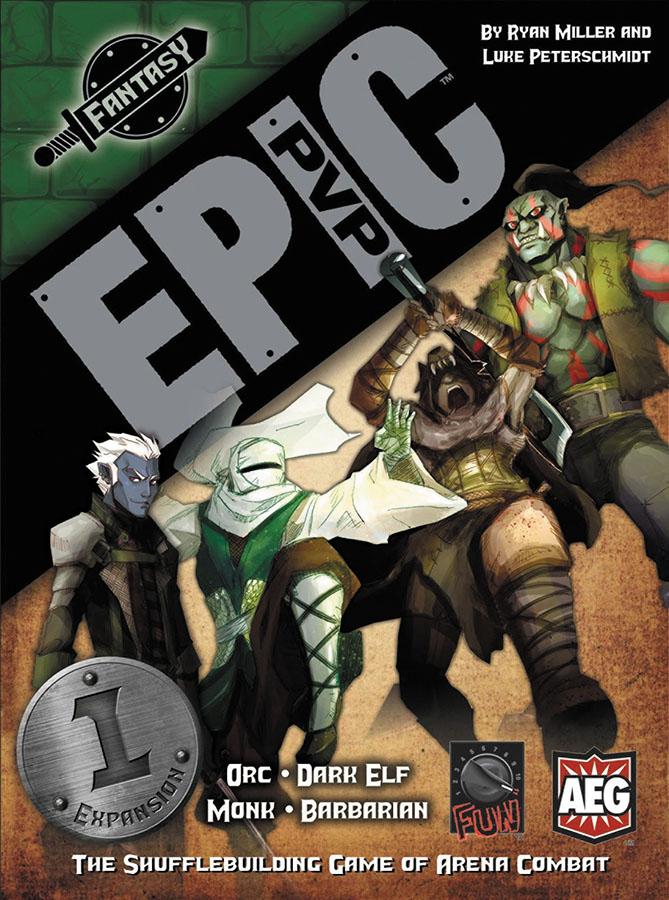Epic Pvp: Fantasy: Expansion 1 Box Front