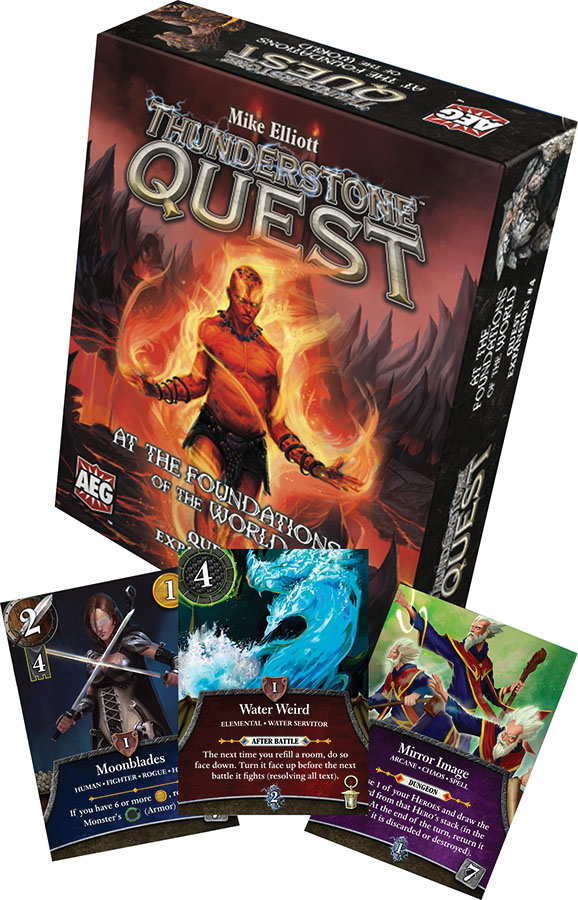 Thunderstone Quest: Foundations Of The World Game Box