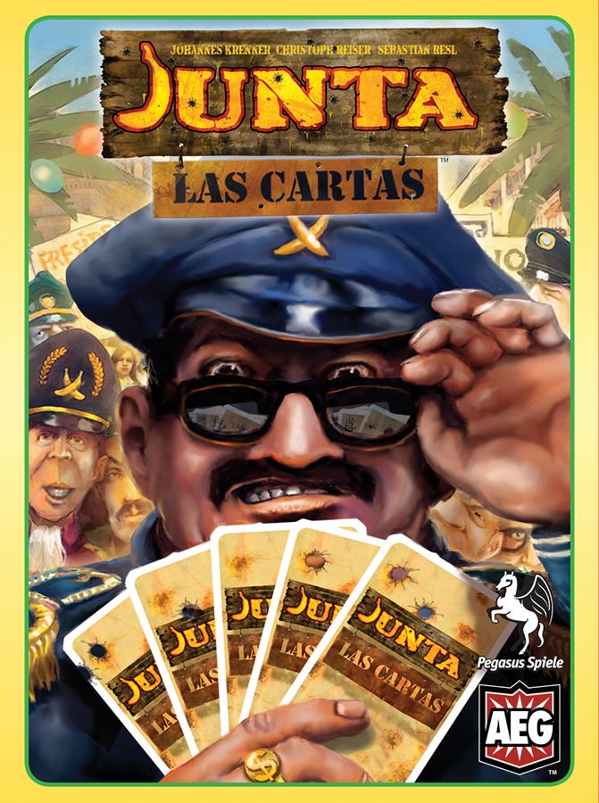 Junta: Las Cartas Box Front