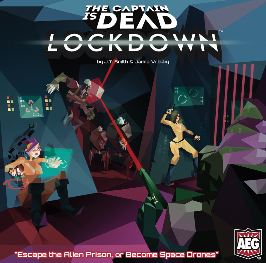 The Captain Is Dead: Lockdown Box Front