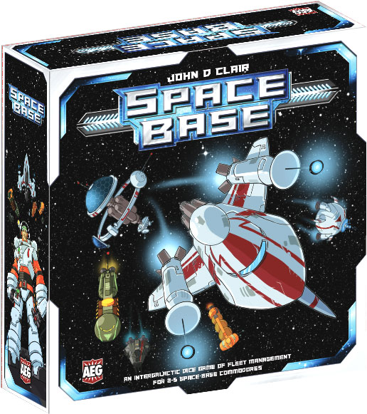 Space Base Box Front