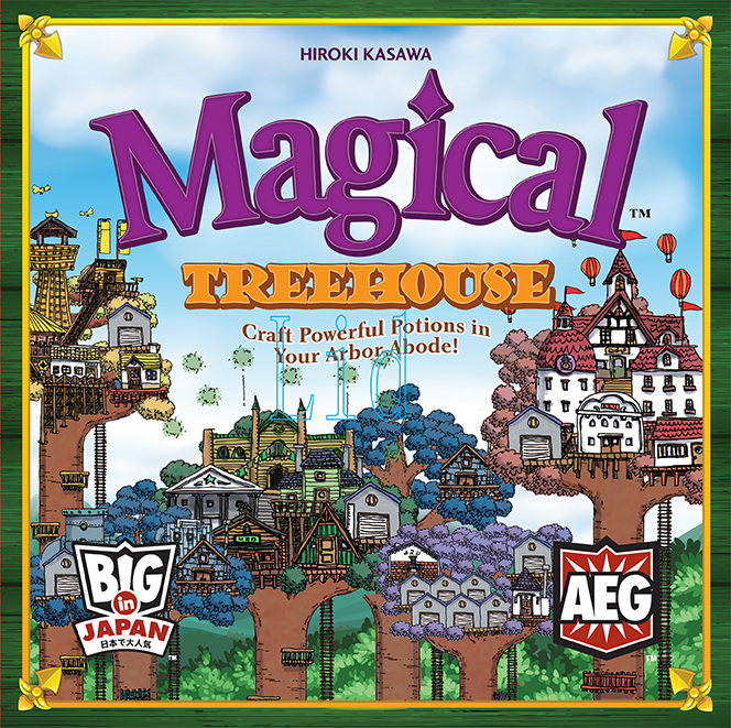 Magical Treehouse Box Front