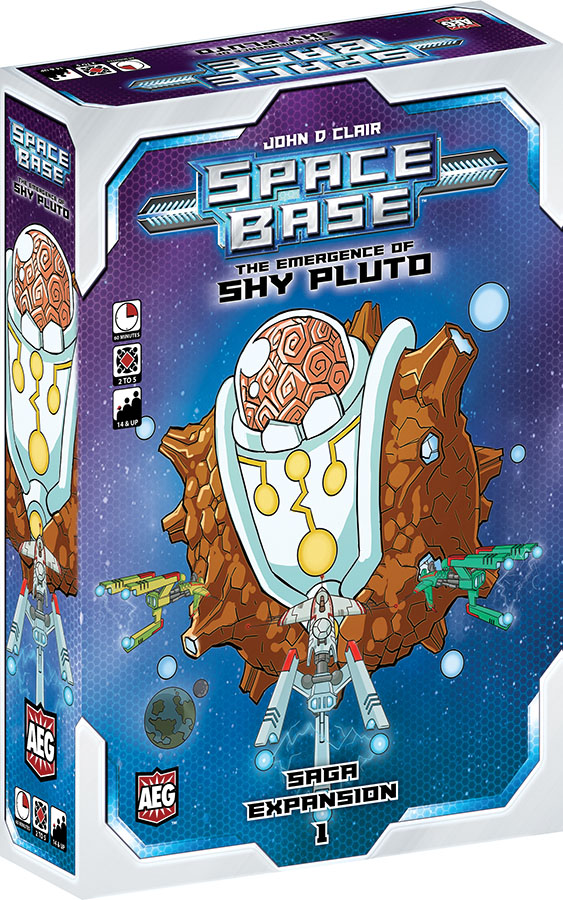 Space Base: The Emergence Of Shy Pluto Game Box